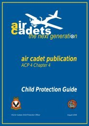 ACP 4 - Child Protection Guide - 967 Air Cadets