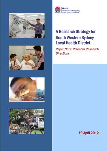 A Research Strategy for South Western Sydney Local Health District