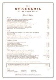 Brasserie Dinner Menu 05.11 vi