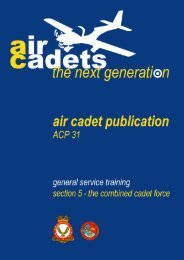 ACP 31 Section 5-The CCF - 967 Air Cadets