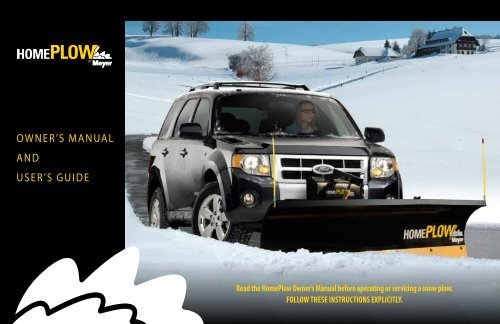 Meyer 09917  Snow Plow Guide Makers Drive Pro New Style Straight