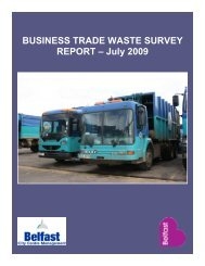 BUSINESS TRADE WASTE SURVEY REPORT – July 2009