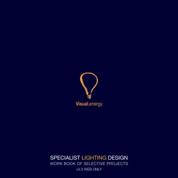 SPECIALIST LIGHTING DESIGN - Visual Energy