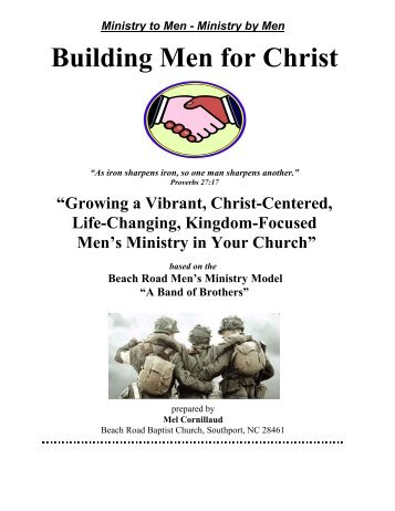 Beach Road Baptist Church Men's Ministry Manual - Baptist Men ...