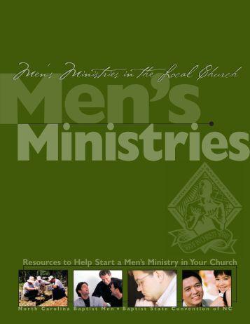 Men's Ministry bro.mechƒ - Baptist Men and Women on Mission