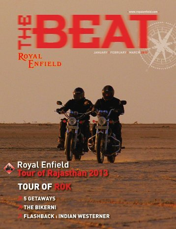 Mar 2013 - Royal Enfield