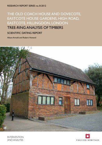 the old coach house and dovecote, eastcote ... - English Heritage