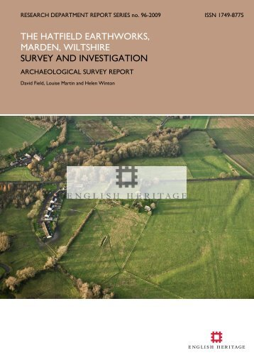 survey and investigation - English Heritage