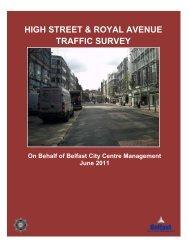 HIGH STREET & ROYAL AVENUE PSNI TRAFFIC SURVEY