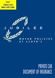 JUBILEE Private Car 2007 07 - Adrian Flux
