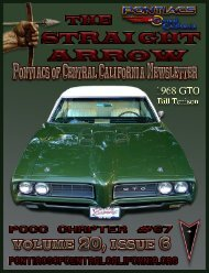 June 2013 - Pontiacs of Central California