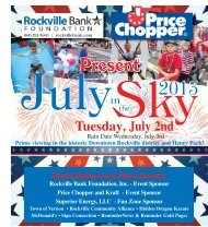 July in the Sky - Town of Vernon