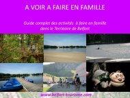 A voir, à faire en famille - Belfort Tourisme