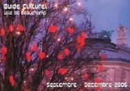 guide culturel.qxd - Connaissance de l'Art Contemporain