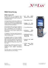 Mobile Datenerfassung - Norlan