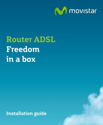 Router ADSL Freedom in a box - Movistar