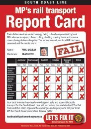 How did your local member rate? Check out their report card here.