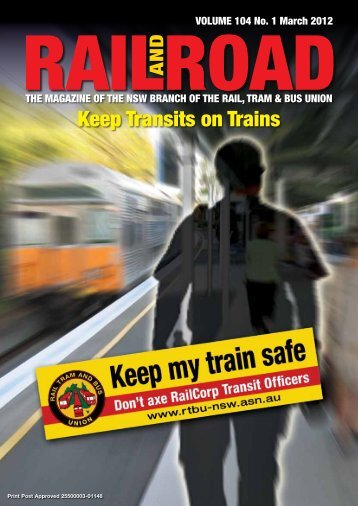 Keep Transits on Trains - Rail, Tram and Bus Union of NSW
