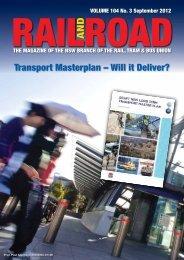 Rail and Road – September 2012 - locoexpress.com.au