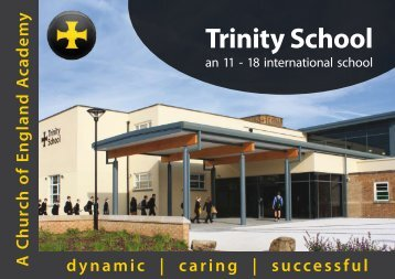Trinity Prospectus - Trinity School