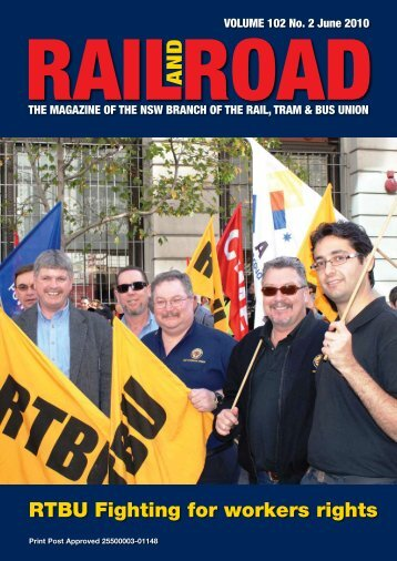 railroad - Rail, Tram and Bus Union of NSW