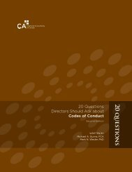 2 0 questions - Canadian Institute of Chartered Accountants