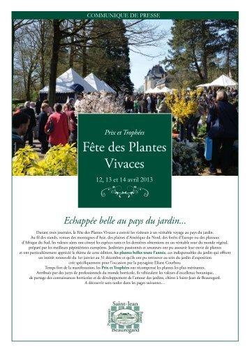 Fête des Plantes Vivaces - Jardinot - Le jardin du cheminot