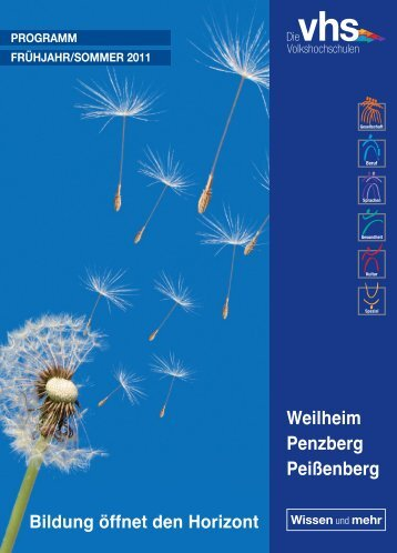 Weilheim Penzberg Peißenberg - VHS Penzberg
