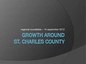 regional roundtable – 14 september 2012 - EDC St. Charles County