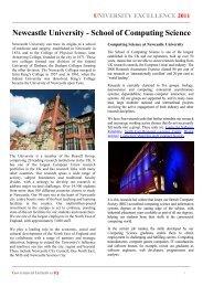 Newcastle University - School of Computing Science
