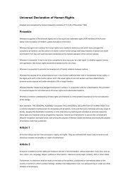 Universal Declaration of Human Rights