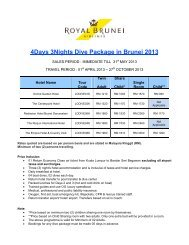 PU Dive Package 4d3n_2nd Extension.pdf - Royal Brunei Airlines ...