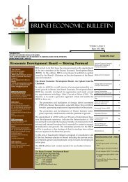 Brunei Economic Bulletin Vol.1 Issue No.3 - Bruneiresources.com