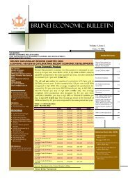 Brunei Economic Bulletin Vol.3 Issue No.2 - Brunei Resources
