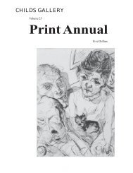 Print Annual 25 - Childs Gallery