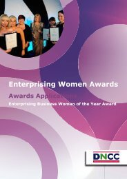 Enterprising Business Woman of the Year - Derbyshire and ...