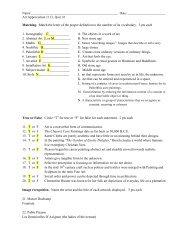 art appreciation quiz 1 with answers.pdf - MichaelAldana.com