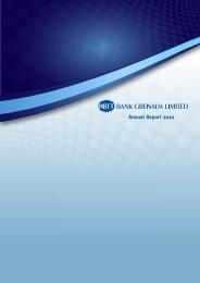 RBTT Bank Grenada Limited - Annual Report 2010