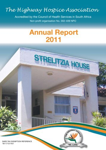 Annual Report 2011 - Highway Hospice