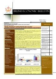 Brunei Economic Bulletin Vol.2 Issue No.3 - Brunei Resources