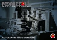 AUTOMATIC TUBE BENDERS - VIGRA MARKETING & SERVICES