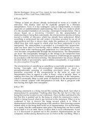 10.Heidegger Excerpts copy - Pierre Legrand
