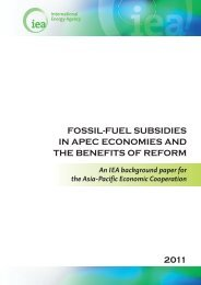fossil-fuel subsidies in apec economies and the benefits of reform ...
