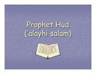 Prophet Hud ('alayhi salam) - Abdurrahman