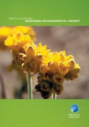 Perth Airport Annual Environment Report 2005/06 (5.66 MB)