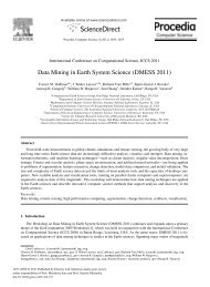 Data Mining in Earth System Science - Climate and Carbon Cycle ...