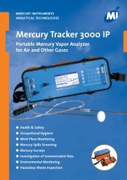 Mercury Tracker 3000 IP - Ecotech