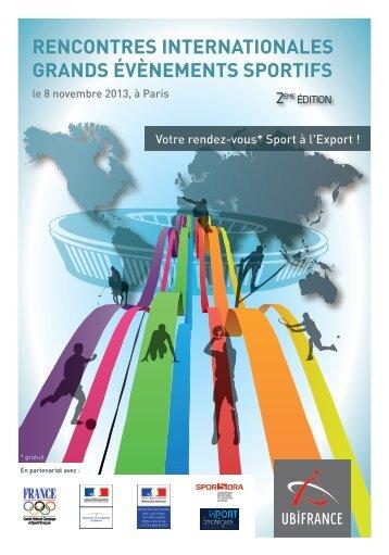 rencontres internationales grands évènements sportifs - Le blog de l ...