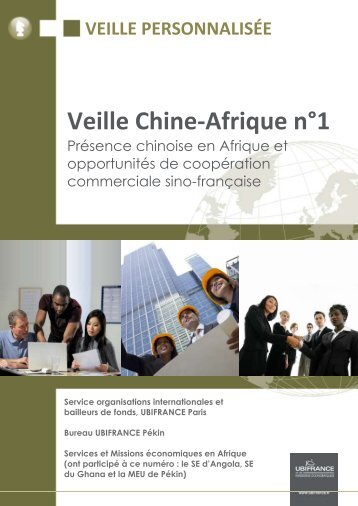 Veille Chine-Afrique n°1 - Le blog de l'export UBIFRANCE