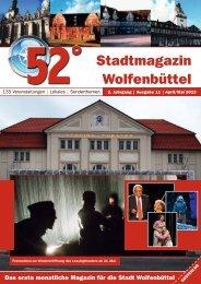 Stadtmagazin Wolfenbüttel - beim Verlag 52 Grad